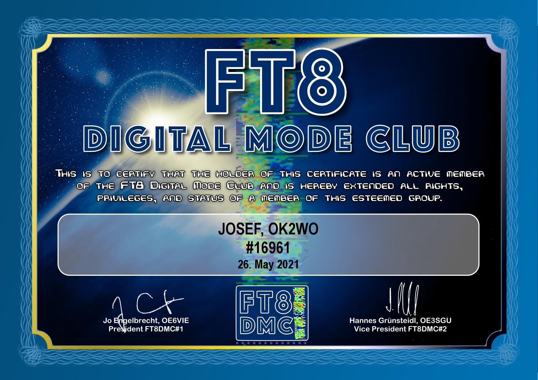 Diplomy FT8