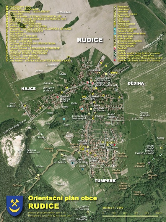 Fotomapa Rudice